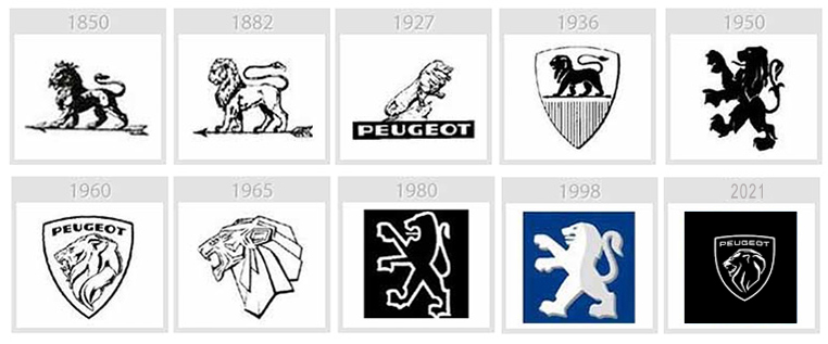 evolution logo peugeot